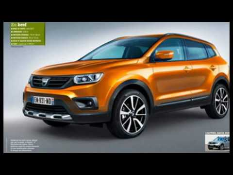 2018 renault duster suv luxury concept review launch for Interieur nouveau duster