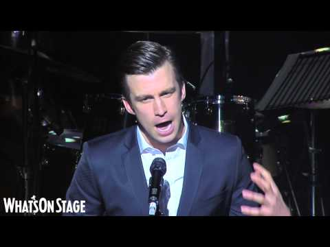 Gavin Creel accepts WhatsOnStage Award for Best Actor in a Musical