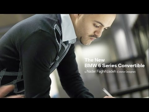An Interview with the new BMW 6 Series Convertible Exterior Designer, Nader Faghihzadeh