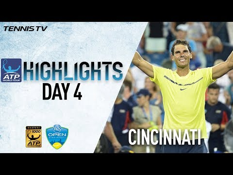 Highlights: Tiafoe Ousts Zverev, Nadal & Dimitrov Advance Cincinnati 2017