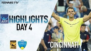 Highlights: Tiafoe Ousts Zverev, Nadal & Dimitrov Advance Cincinnati 2017
