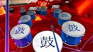 Beat Saber for Drummers! - SMASH DRUMS! ON OCULUS QUEST