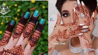 Beautiful arabic mehndi designs | stylish mehndi designs for hands | latest mehndi design