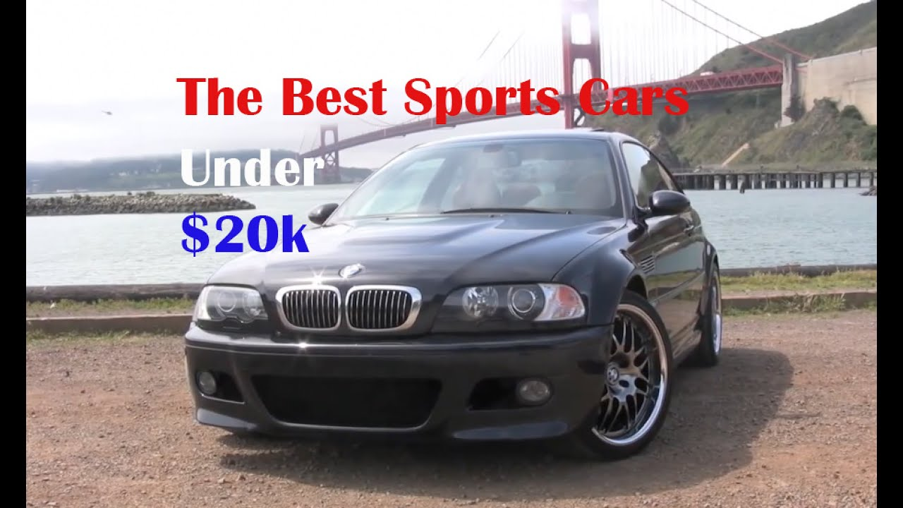 the best sports cars under 20k youtube. Black Bedroom Furniture Sets. Home Design Ideas