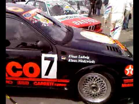 Ford Sierra RS500 startup