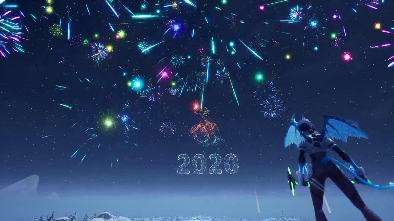 Feuerwerk Fortnite