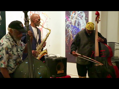 Charles Gayle, Henry Grimes, William Parker - Arts For Art, NYC - May 1 2015