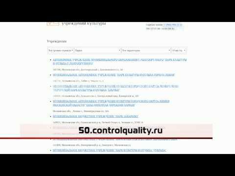 Оценка качества услуг учреждений культуры
