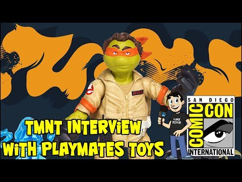TMNT Interview with Playmates Toys at San Diego Comic Con 2017