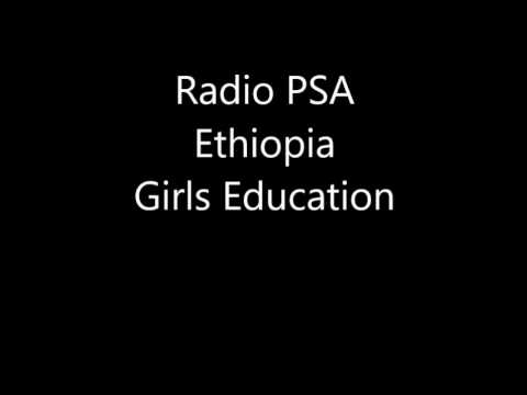 Radio PSA Ethiopia Girls Education