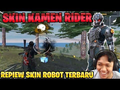 SKIN ROBOT HITAM ANNIHILATOR! MUSUH AUTO BOOYAH! - Garena Free Fire