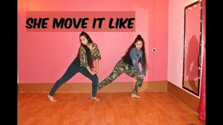 She Move It Like - Official Video | Badshah | Warina Hussain | ONE Album Dance routine