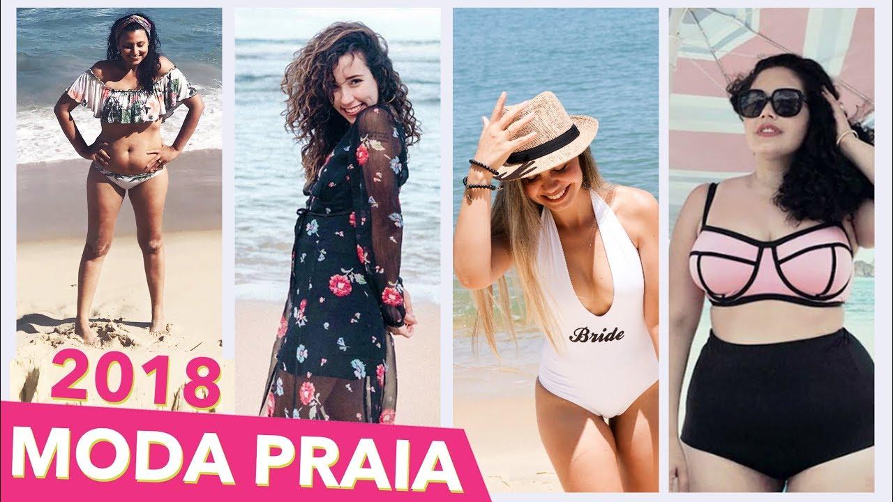 9b7e17345 Moda Praia 2018 - Tendências de Biquinis
