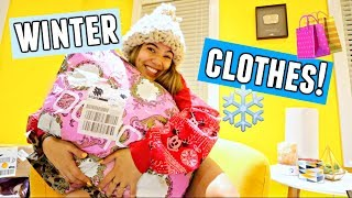 WINTER CLOTHING HAUL!☃️🛍️❄️ For actual cold weather!