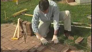Install Your Own Brick Patio