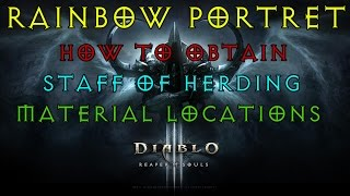 diablo 3 2 4 1 guide rainbow portrait staff of herding material locations whimsydale world
