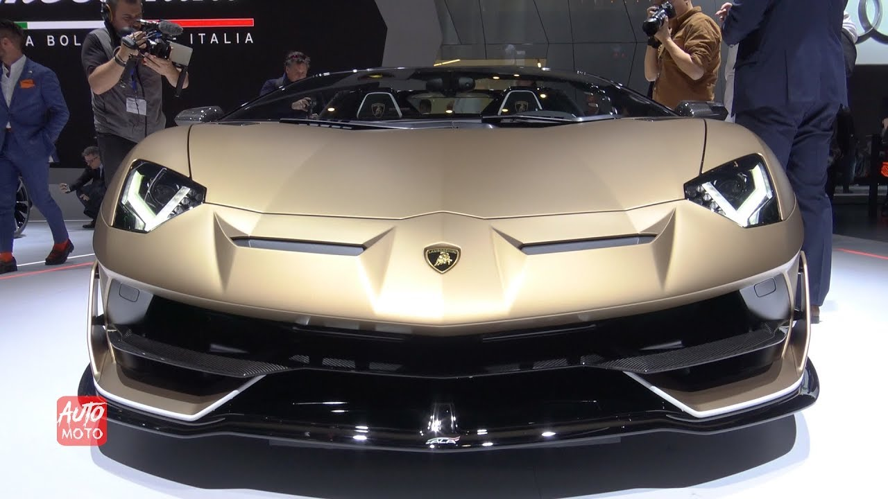 2020 Lamborghini Aventador Svj Roadster Exterior And Interior 2019 Geneva Motor Show