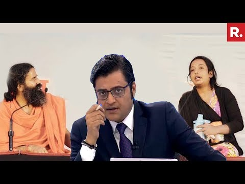 Yoga teacher Vs Muslim Fringe | The Debate With Arnab Goswami