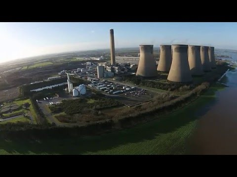 Eggborough & Drax Power Station Floods, Selby, Yorkshire 29/12/15