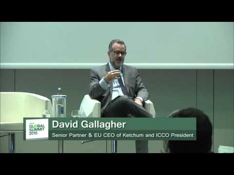World PR Report 2015 with David Gallagher and Arun Sudhaman