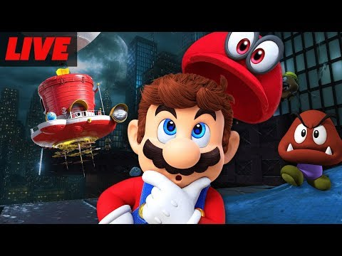 Super Mario Odyssey First Hour Livestream