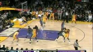 Kobe Bryant - Example of Footwork