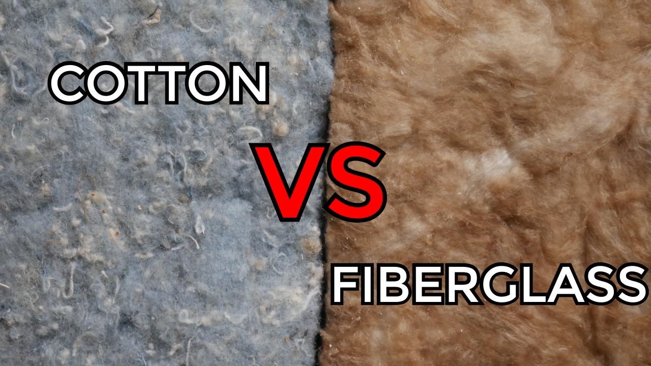 Cotton Denim Vs Fiberglass Insulation Is It Worth It Youtube