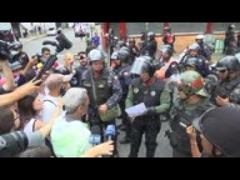Opposition activists appeal to Venezuelan military