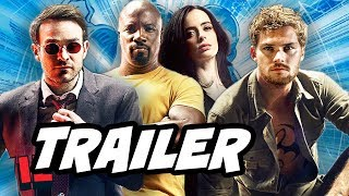 Defenders Trailer 2 Breakdown and The Punisher Teaser