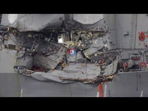 US Navy identifies 7 sailors killed in collision
