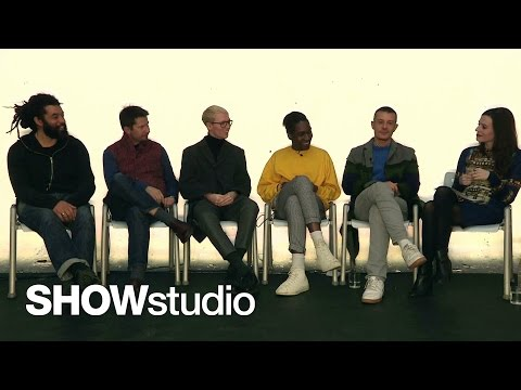 London Collections: Mens - Designer Discussion