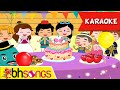 Happy Birthday karaoke song for kids | Fairytale Style | Nursery Rhymes | Ultra HD 4K Music Video Mp3