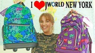I ❤️ JWORLD NEW YORK | Backpack Review