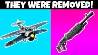 6 Things REMOVED FROM FORTNITE SEASON 8!