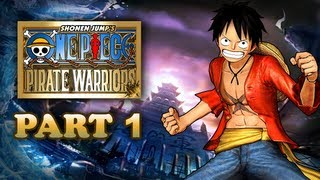 One Piece: Pirate Warriors Walkthrough Part 1 [PS3 JP]