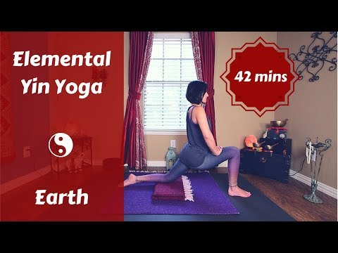 Elemental Yin Yoga Earth 🌍 | Grounding & Centering| Late Summer Yoga {42 mins}