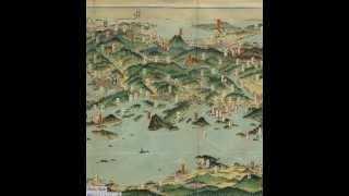 @吉田初三郎 西日本鳥瞰大図会 パノラマビュー