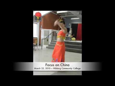 Hibbing Daily Tribune - Focus on China - Peacock Dance