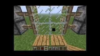 Как сделать автоматическую дверь в Minecraft(Советую посмотреть это тем, кто до сег пор ставит в дома обычную дверь., 2013-07-31T14:39:47.000Z)
