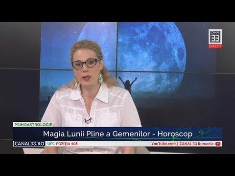 Magia Lunii Pline A Gemenilor - Horoscop, Cu Camelia Pătrășcanu