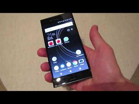 Sony Xperia XZs - смартфон-видеокамера с замедлением (до 960 Fps)