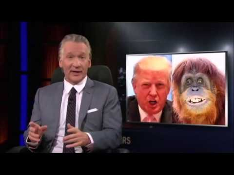 Thumbnail: Donald Trump Sues Bill Maher over Orangutan Joke