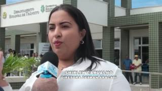 Inauguração Detran Aracati - Shirley Carvalho
