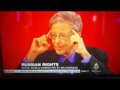 Russia Scholar Stephen Cohen Exposes Absurdity/Bias of media on Russia - Al Jazeera America