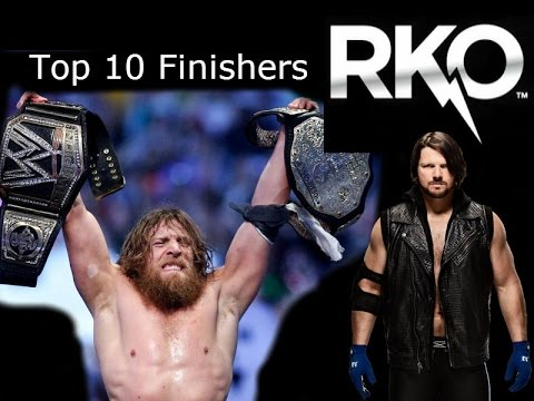 Top 10 WWE finishers