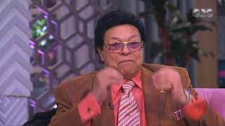 معكم منى الشاذلي   بكاء الفنان إبراهيم نصر أثناء الحديث عن فيلم إكس لارج مع أحمد حلمي