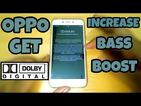 Oppo Get Dolby Digital & Increase Bass Boost