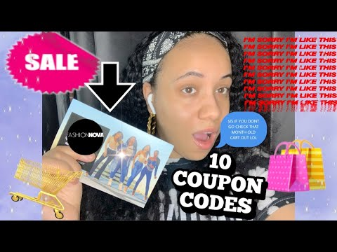 FASHION NOVA PROMO CODES/COUPON CODES 2020!!!!