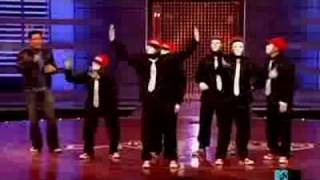 Jabbawockeez-Apologize Performance And Remake America