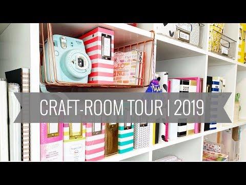 Craft Room Tour | 2019